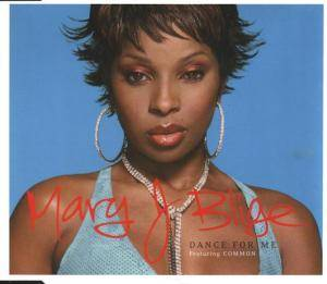 Mary J. Blige: Dance For Me - Cover