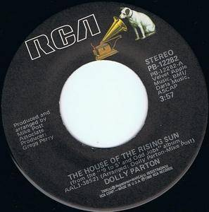 Cover - Dolly Parton: House Of The Rising Sun, The