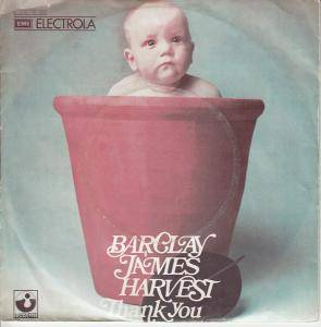 Cover - Barclay James Harvest: Thank You
