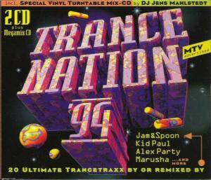 Trance Nation '94 - Cover