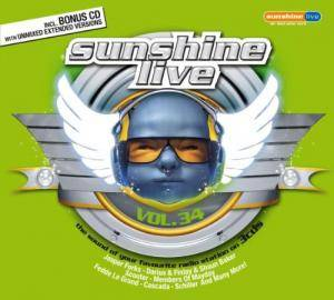 Cover - Koen Groeneveld: Sunshine Live Vol. 34