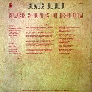 Black Uhuru: Black Sounds Of Freedom (LP) - Bild 2