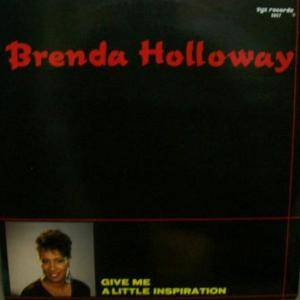 Cover - Brenda Holloway: Give Me A Little Inspiration