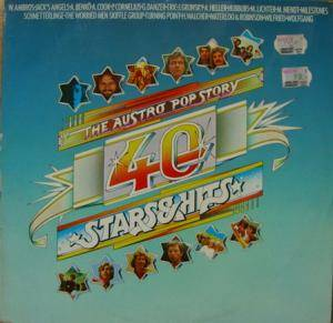 Cover - Orange Peel: Austro Pop Story, 40 Stars & Hits, The