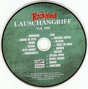 Rock Hard - Lauschangriff Vol. 008 (CD) - Bild 3