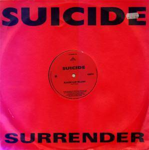 Cover - Suicide: Surrender