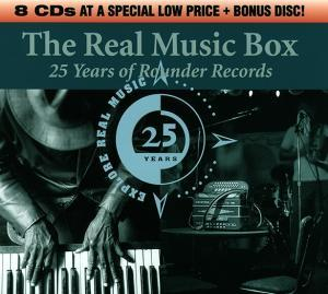 Real Music Box - 25 Years Of Rounder Records, The - Cover