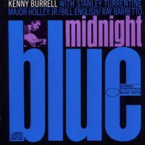 Kenny Burrell: Midnight Blue - Cover