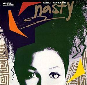 Janet Jackson: Nasty - Cover