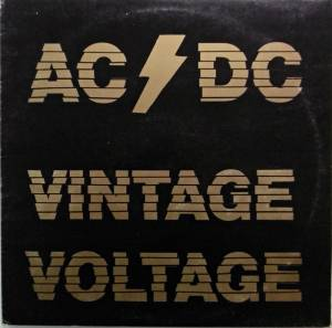 AC/DC: Vintage Voltage - Cover