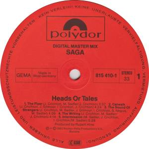 Saga: Heads Or Tales (LP) - Bild 5