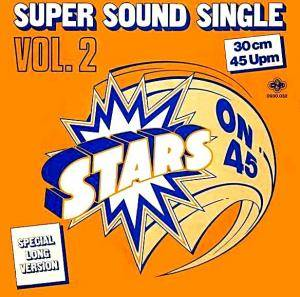 Stars On 45: Vol. 2 - Cover
