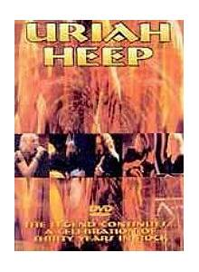 Uriah Heep: Legend Continues..., The - Cover