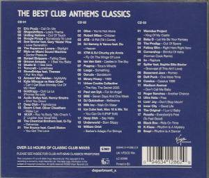 The best club anthems classics 3 cd 2005 for Best house anthems
