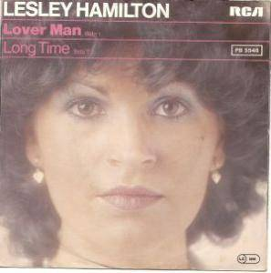 Cover - Lesley Hamilton: Lover Man