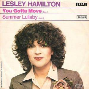 Cover - Lesley Hamilton: You Gotta Move