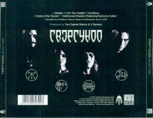 Triptykon: Shatter - Eparistera Daimones Accompanied (Mini-CD / EP) - Bild 2