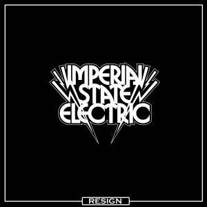 Cover - Imperial State Electric: Resign