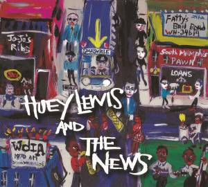 Cover - Huey Lewis & The News: Soulsville