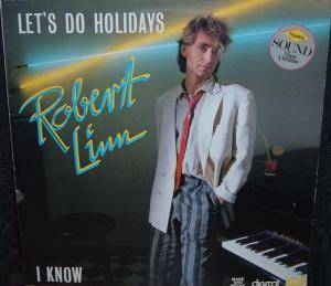 Robert Linn: Let's Do Holidays - Cover