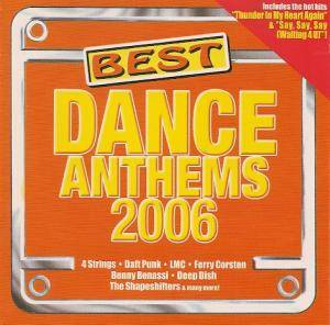 Cover - Hi_Tack: Best Dance Anthems 2006