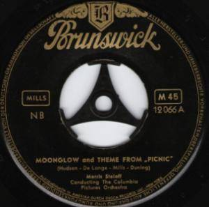 "Cover - George Duning: Moonglow And Theme From ""Picnic"""