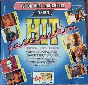 Top 13 Music-Club - Hit Fascination 1/91 - Cover