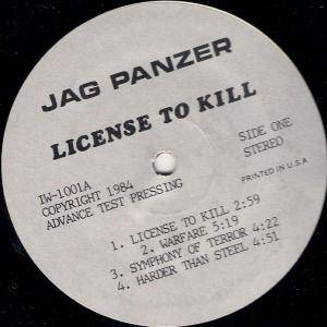 Jag Panzer: License To Kill (LP) - Bild 1