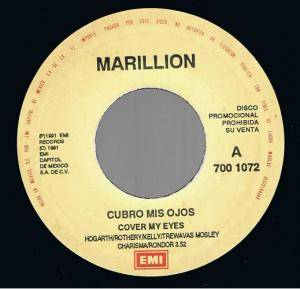 "Marillion: Cover My Eyes (Promo-7"") - Bild 1"