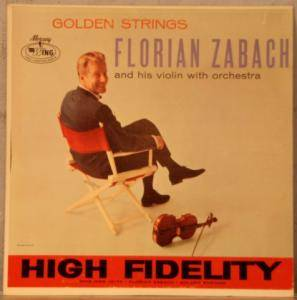 Cover - Florian Zabach: Golden Strings