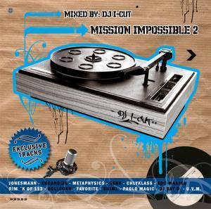 Cover - Sprachtot: DJ I-Cut - Mission Impossible 2
