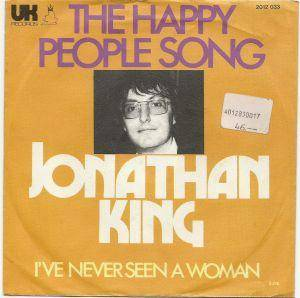 Jonathan King: Happy People Song, The - Cover