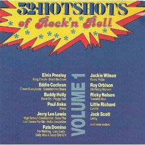 Cover - Hank Mizell: 32 Hotshots Of Rock'n Roll - Volume 1