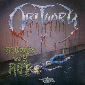 Obituary: Slowly We Rot (LP) - Bild 1