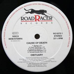 Obituary: Cause Of Death (LP) - Bild 4