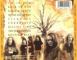Obituary: The End Complete (CD) - Bild 3