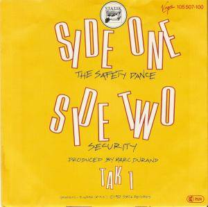 "Men Without Hats: The Safety Dance (7"") - Bild 2"