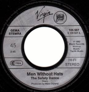 "Men Without Hats: The Safety Dance (7"") - Bild 3"