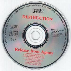 Destruction: Release From Agony (CD) - Bild 3