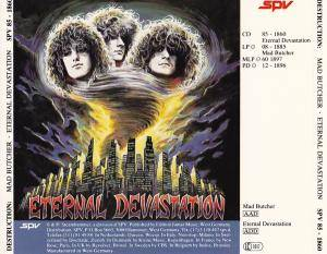 Destruction: Mad Butcher / Eternal Devastation (CD) - Bild 3