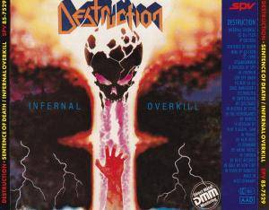 Destruction: Sentence Of Death / Infernal Overkill (CD) - Bild 2