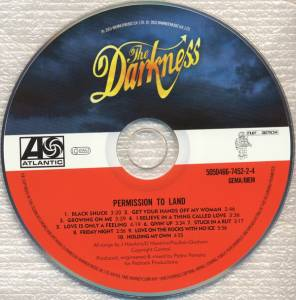 The Darkness: Permission To Land (CD) - Bild 2