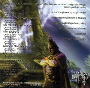 Mithotyn: King Of The Distant Forest (CD) - Bild 2