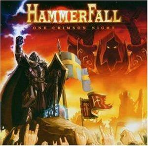 HammerFall: One Crimson Night - Cover