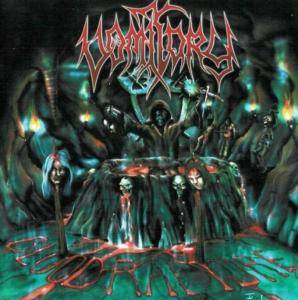 Cover - Vomitory: Blood Rapture