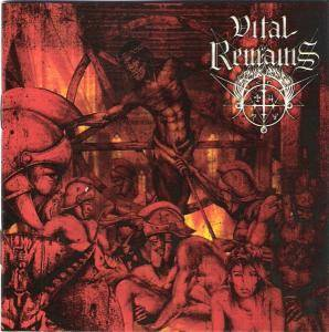 Vital Remains: Dechristianize - Cover