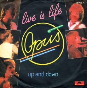 Opus: Live Is Life - Cover