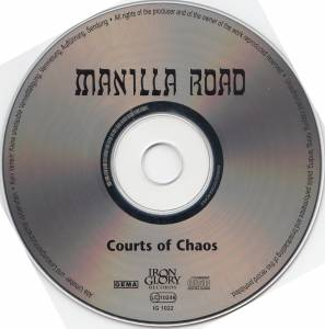 Manilla Road: The Courts Of Chaos (CD) - Bild 3