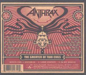Anthrax: The Greater Of Two Evils (2-CD) - Bild 2