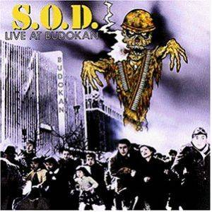 S.O.D.: Live At Budokan - Cover
